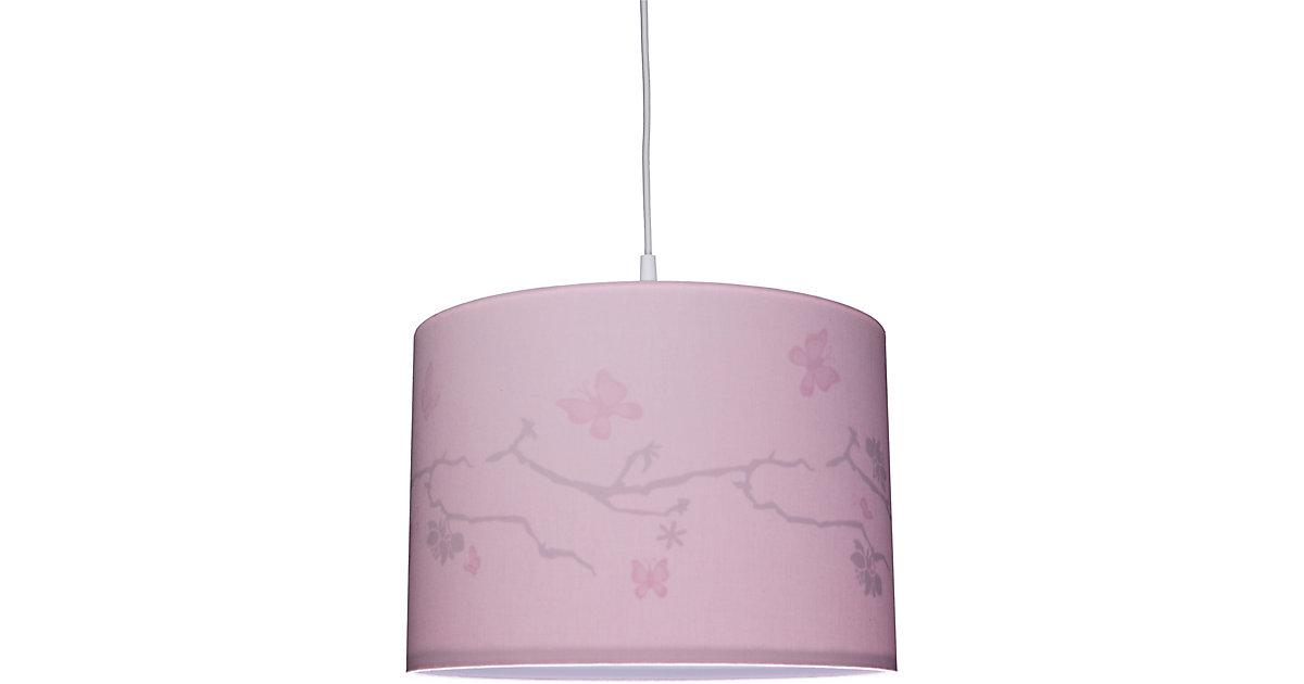 Waldi · Pendelleuchte rosa, Silhouette Schmetterling, 1-flg.
