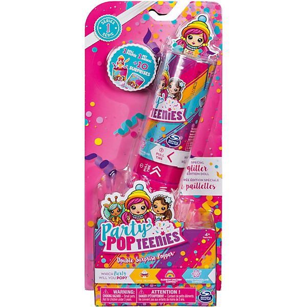 Party PopTeenies Double Surprise Poppers