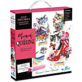 "Набор для квиллинга Origami ""Magical Quilling"" Пушистые котята"