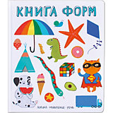 """Развивающая книга """"Слова в картинках"""" Книга форм"""