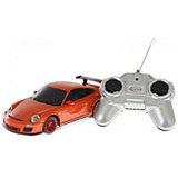 """Радиоуправляемая машина Rastar """"Porsche GT3 RS"""" 1:24, оранжевая"""