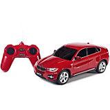 """Радиоуправляемая машина Rastar """"BMW X6"""" 1:24, красная"""