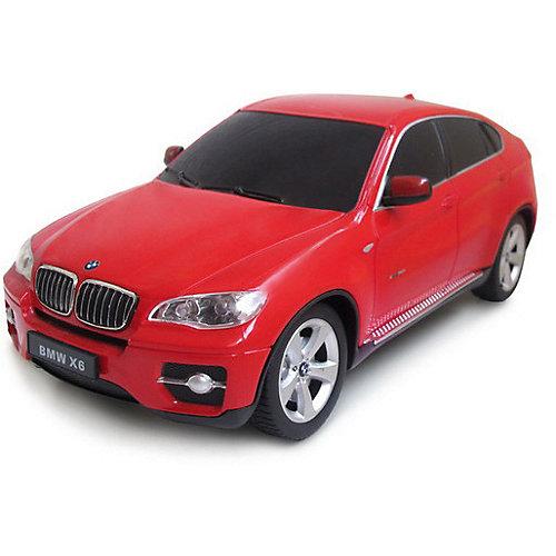 """Радиоуправляемая машина Rastar """"BMW X6"""" 1:24, красная от Rastar"""