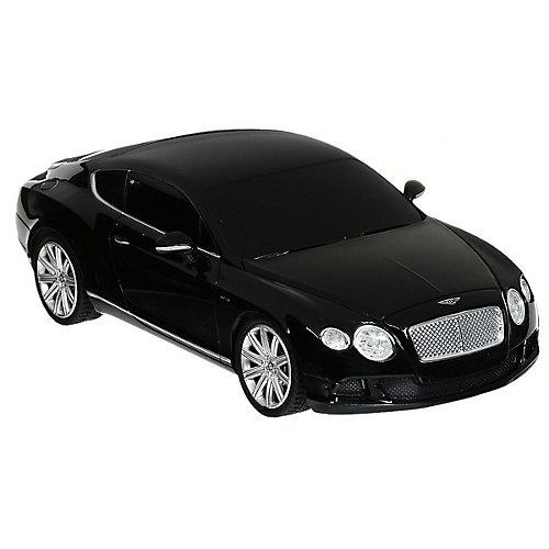 """Радиоуправляемая машина Rastar """"Bentley Continental GT speed"""" 1:24, чёрная от Rastar"""