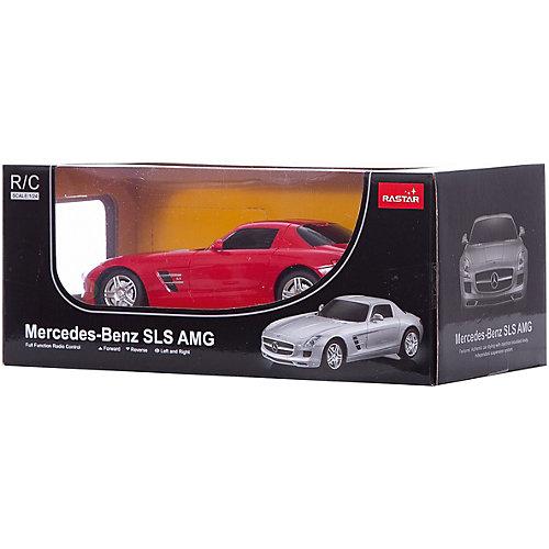 """Радиоуправляемая машина Rastar """"Mercedes SLS AMG"""" 1:24, красная от Rastar"""