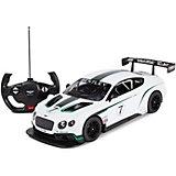 """Радиоуправляемая машина Rastar """"BentleyContinentalGT3"""" 1:14, белая"""