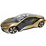 """Радиоуправляемая машина Rastar """"BMW I8"""" 1:14, золотая"""