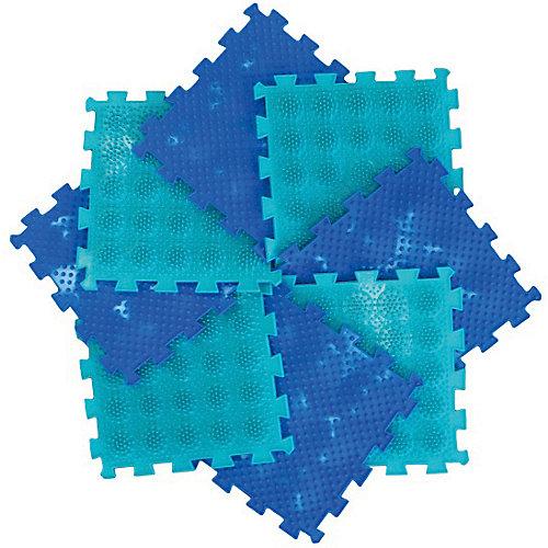 Коврик массажный Орто Пазл модульный Микс «Тропа здоровья» - разноцветный от Ортомикс