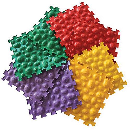 Коврик массажный Орто Пазл модульный Микс «Морские Камни» - разноцветный от Ортомикс