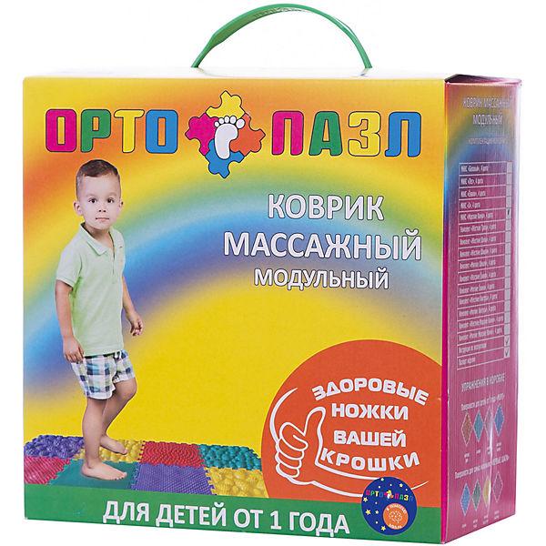 """Модульный массажный коврик Ортомикс """"Ортопазл Морские камни"""", 8 шт"""
