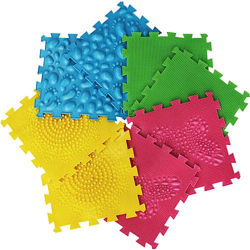 Коврик массажный Орто Пазл модульный Микс «Первые шаги» - разноцветный от Ортомикс