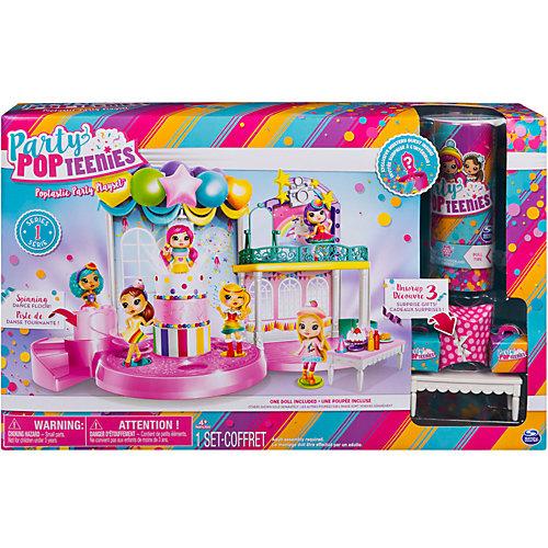"""Игровой набор Spin Master """"Party Popteenies"""" Вечеринка от Spin Master"""