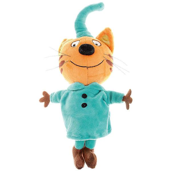 """Мягкая игрушка Мульти-Пульти """"3 кота"""" Компот, озвученная, 20 см"""