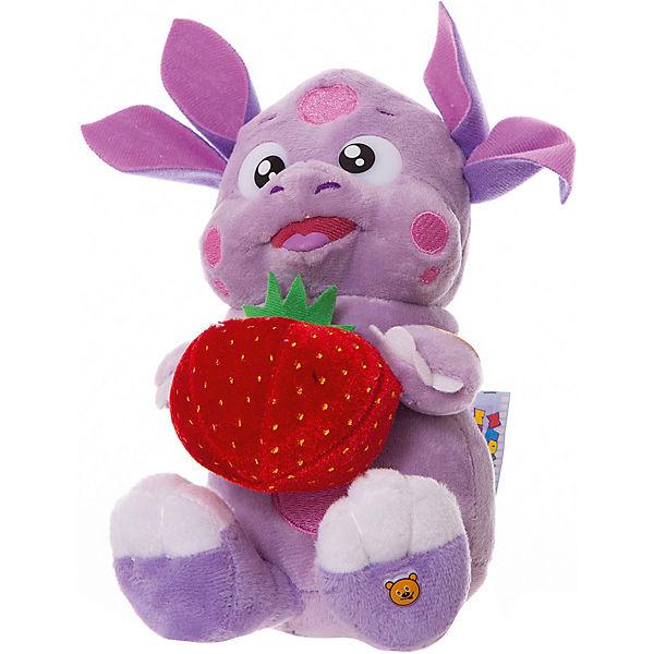 Мягкая игрушка Мульти-Пульти Лунтик с клубничкой, 16 см
