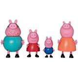 """Игровой набор Росмен """"Свинка Пеппа"""" Семья Свинки Пеппы, 4 фигурки"""