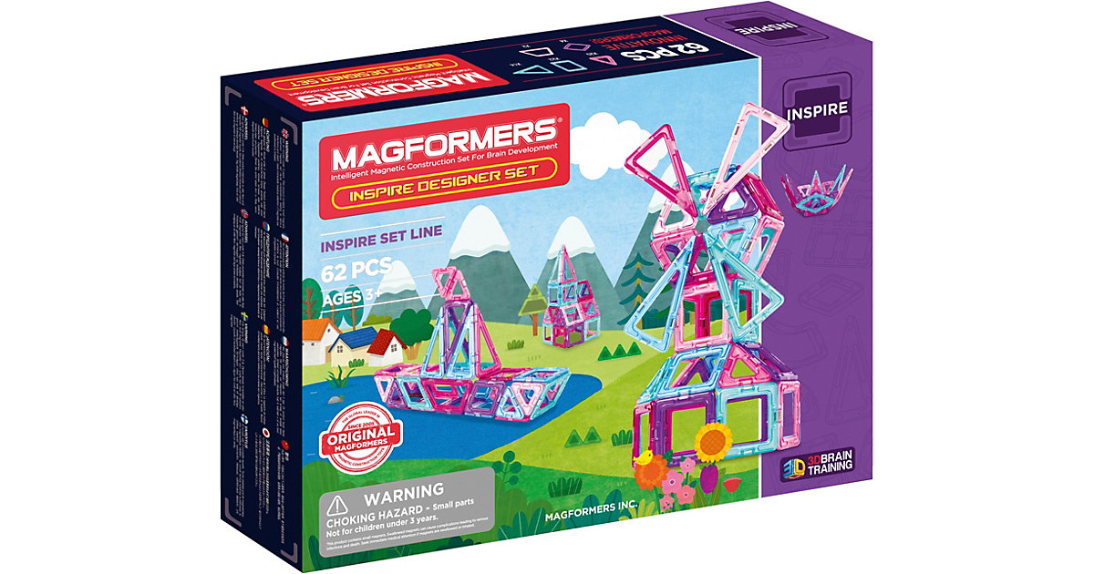 Magformers · MAGFORMERS Inspire 62 Set