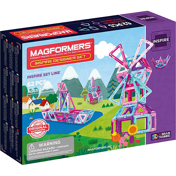 MAGFORMERS Inspire 62 Set, MAGFORMERS