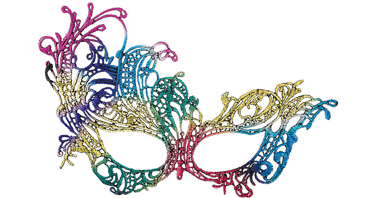 Maske Schmetterling Mädchen Kinder