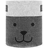 Корзинка большая из фетра, Grey (Серый)