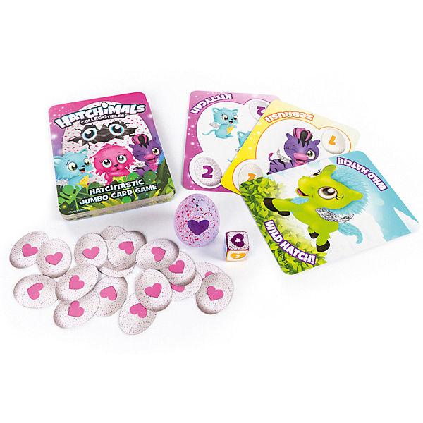Настольная игра Hatchimals игровые карты + коллекционная фигурка