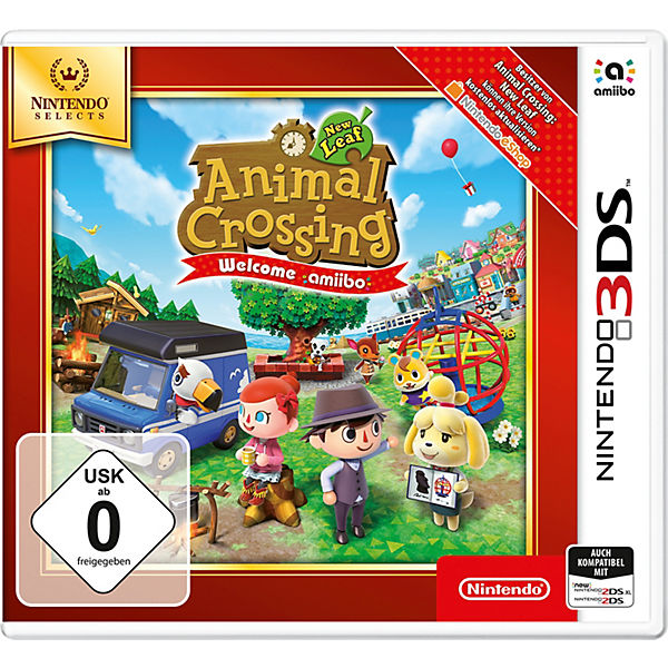 3DS Animal Crossing - New Leaf - Welcome amiibo (Selects)
