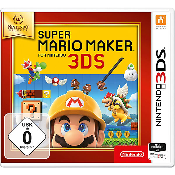 3DS Super Mario Maker (Selects)