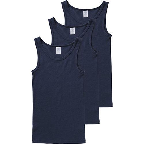 Sanetta Unterhemden 3er-Pack , Organic Cotton Gr. 152 Jungen Kinder | 04055502807912