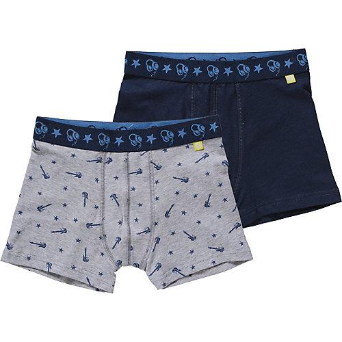Sanetta Doppelpack Boxershorts Gr. 92 Jungen Kleinkinder | 04055502808377