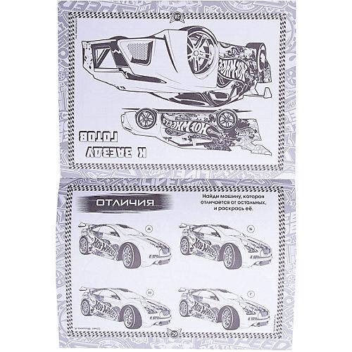 """Книжка с наклейками """"Hot Wheels"""" Планшет для творчества, 150 наклеек от Эксмо"""