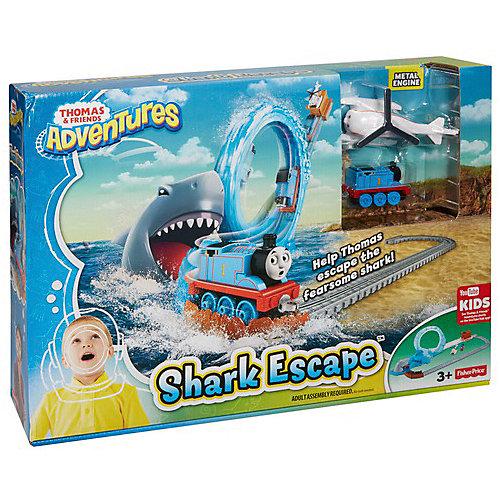 """Железная дорога Thomas and Friends """"Томас и его друзья"""" Игровой набор с акулой от Mattel"""