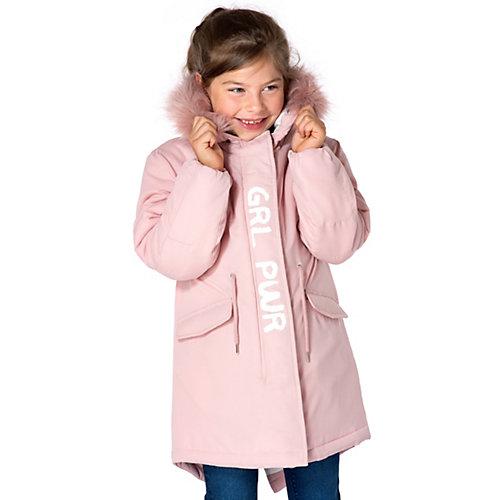 Parka von Jolo Gr. 116/122 Mädchen Kinder | 04036647075329