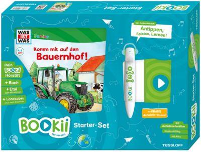 Buch BOOKii Starterset WAS IST WAS Junior Komm mit auf den Bauernhof Hörstift