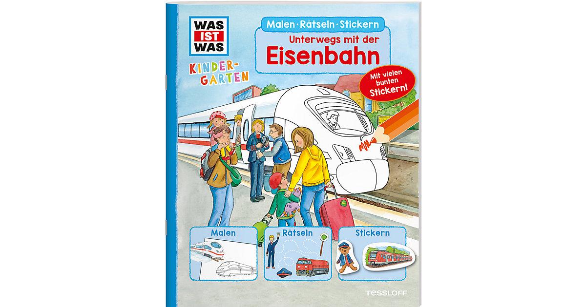 WAS IST WAS Kindergarten - Malen, Rätseln, Stic...