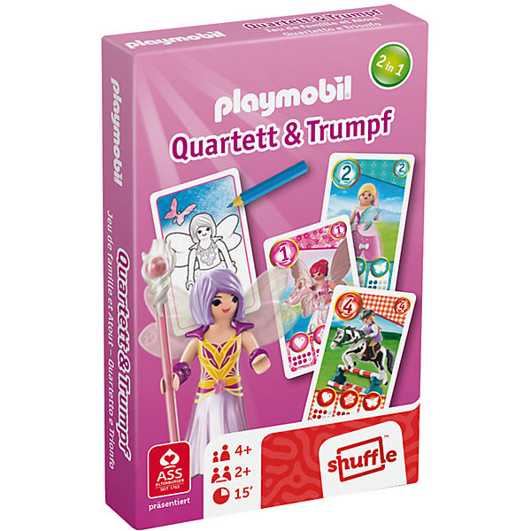 Playmobil Quartett & Trumpf - Prinzessinnen, PLAYMOBIL®