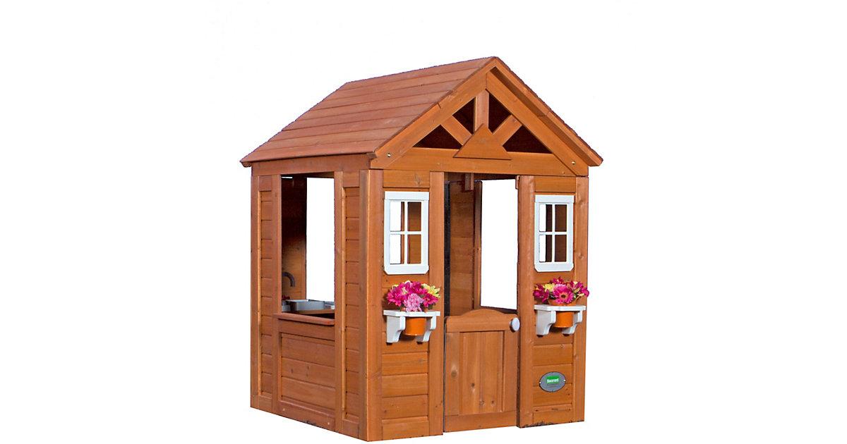 Timberlake Spielhaus braun
