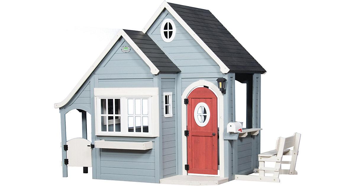 Spring Cottage Spielhaus grau