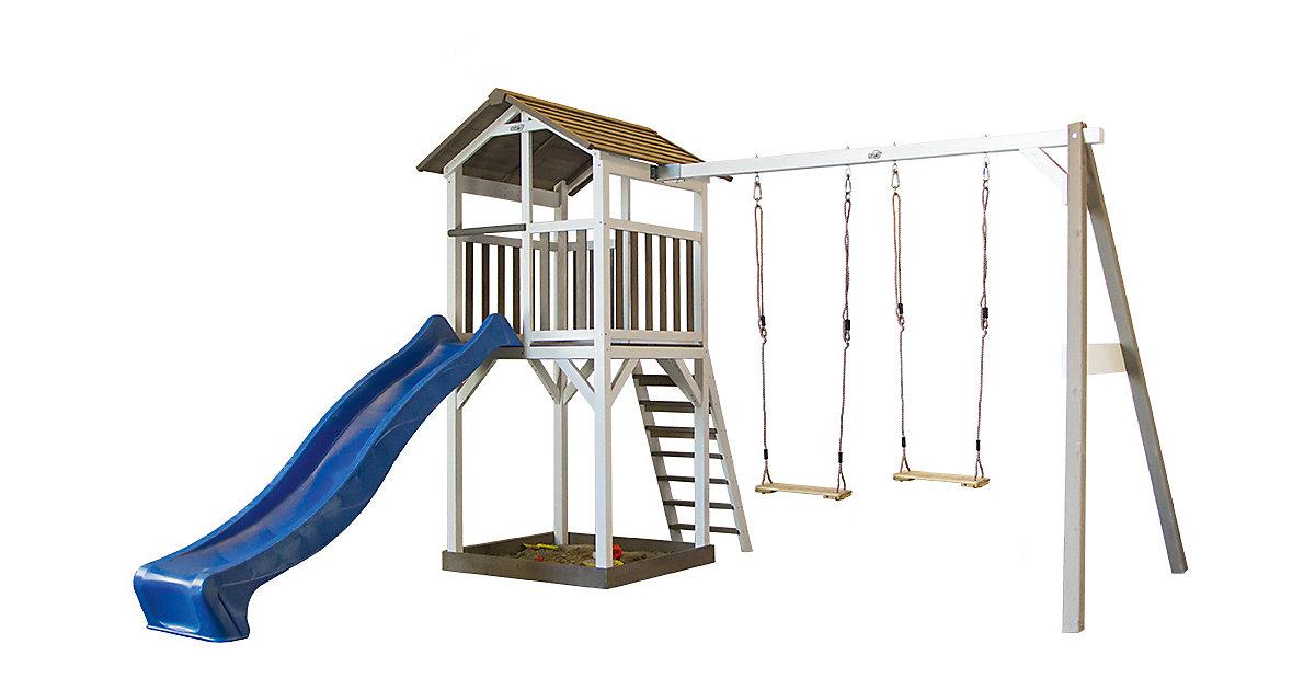 Spielturm mit Doppelschaukel