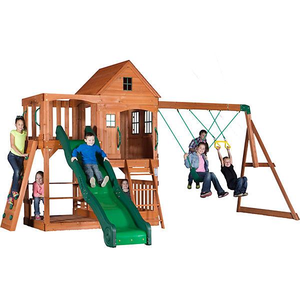 Gut bekannt Hill Crest Spielturm (inkl. Schaukeln), | myToys WA31