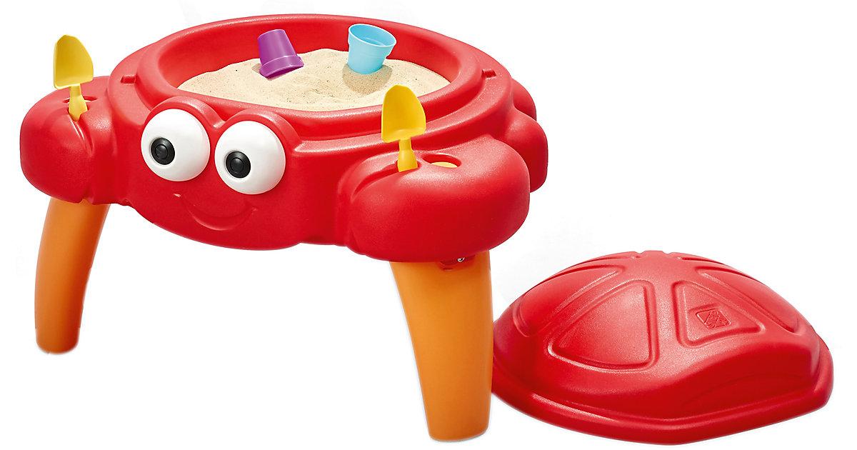 Crabbie Sandspieltisch rot