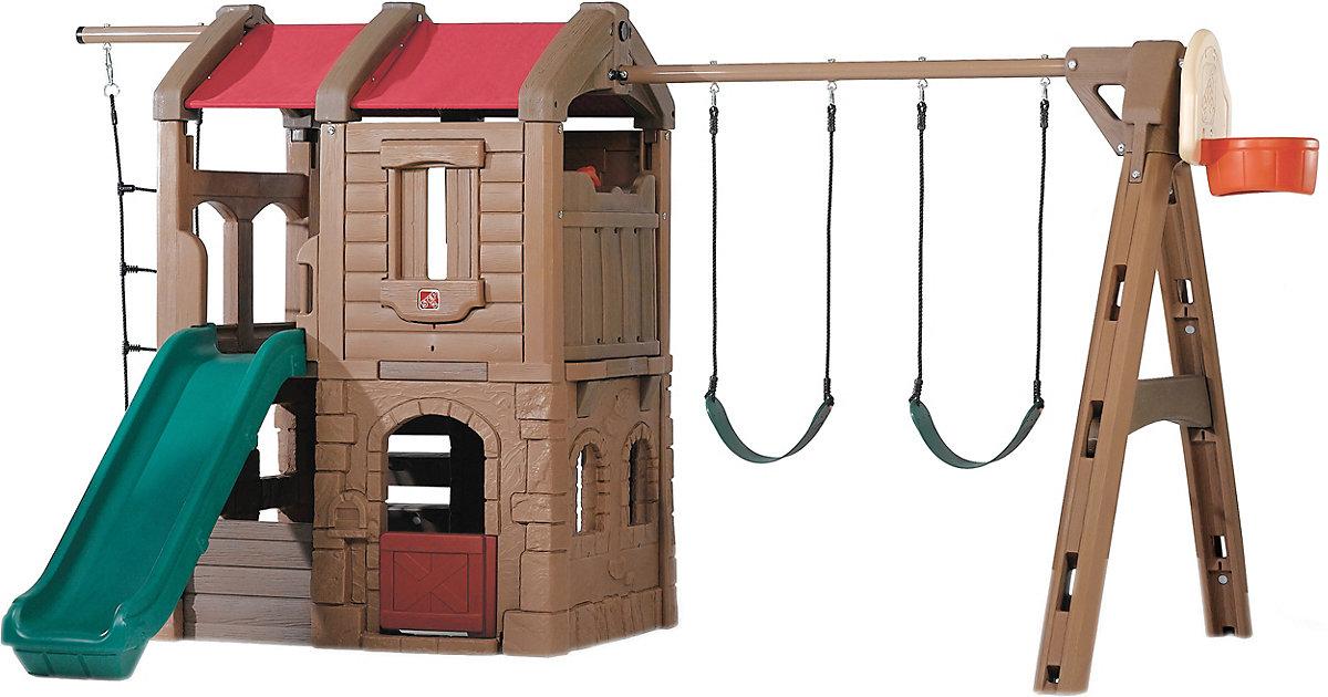 Spielturm mit Schaukeln Adventure Lodge Play Center