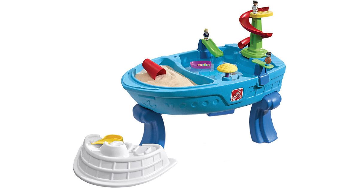 Fiesta Cruise Sand- und Wasserspieltisch blau