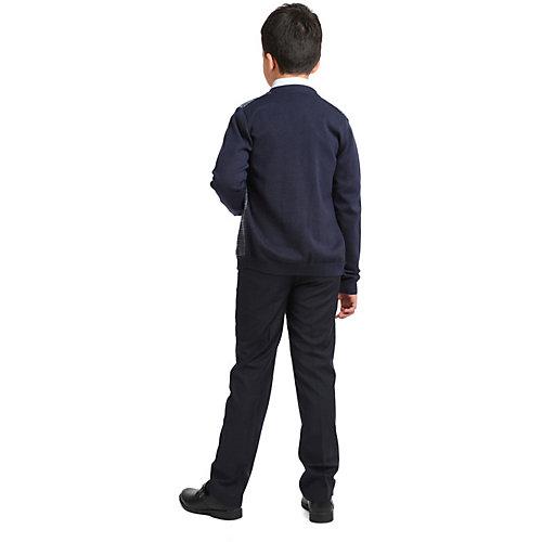 Комплект S'cool: жилет и брюки - темно-синий от S'cool