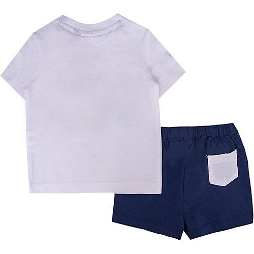 Комплект Original Marines: футболка и шорты - белый от Original Marines