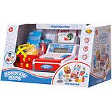 """Игровой набор ABtoys """"Помогаю Маме"""" Касса, в наборе с продуктами и аксессуарами, 40 предметов"""