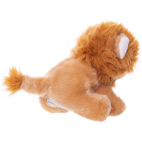 Мягкая игрушка ABtoys Львёнок коричневый, 15 см от ABtoys