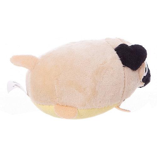 Мягкая игрушка ABtoys Собачка белая, 10 см от ABtoys