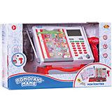 """Игровой набор ABtoys """"Помогаю Маме"""" Касса, в наборе с продуктами и аксессуарами в коробке, 40 предметов"""