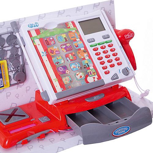 """Игровой набор ABtoys """"Помогаю Маме"""" Касса, в наборе с продуктами и аксессуарами в коробке, 40 предметов от ABtoys"""