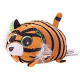 Мягкая игрушка ABtoys Тигрёнок коричневый, 10 см