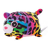 Мягкая игрушка ABtoys Леопард мультиколор, 10 см